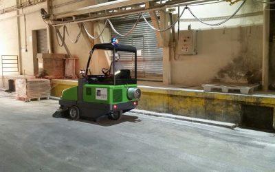 Como saber se uma máquina varredeira de piso é necessária ou não?