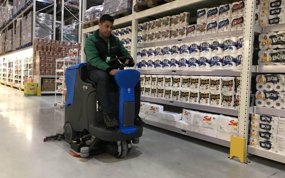 Que tal uma solução para alto desempenho e autonomia na limpeza industrial? Conheça as lavadoras IPC Brasil