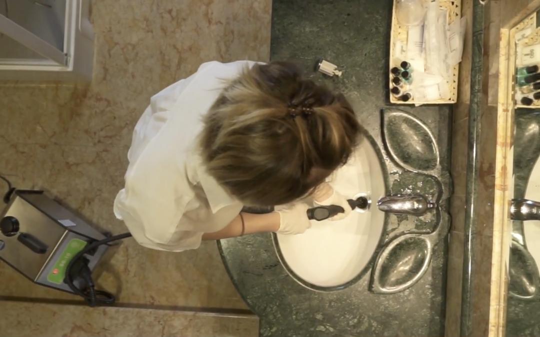 Características da limpeza a Vapor